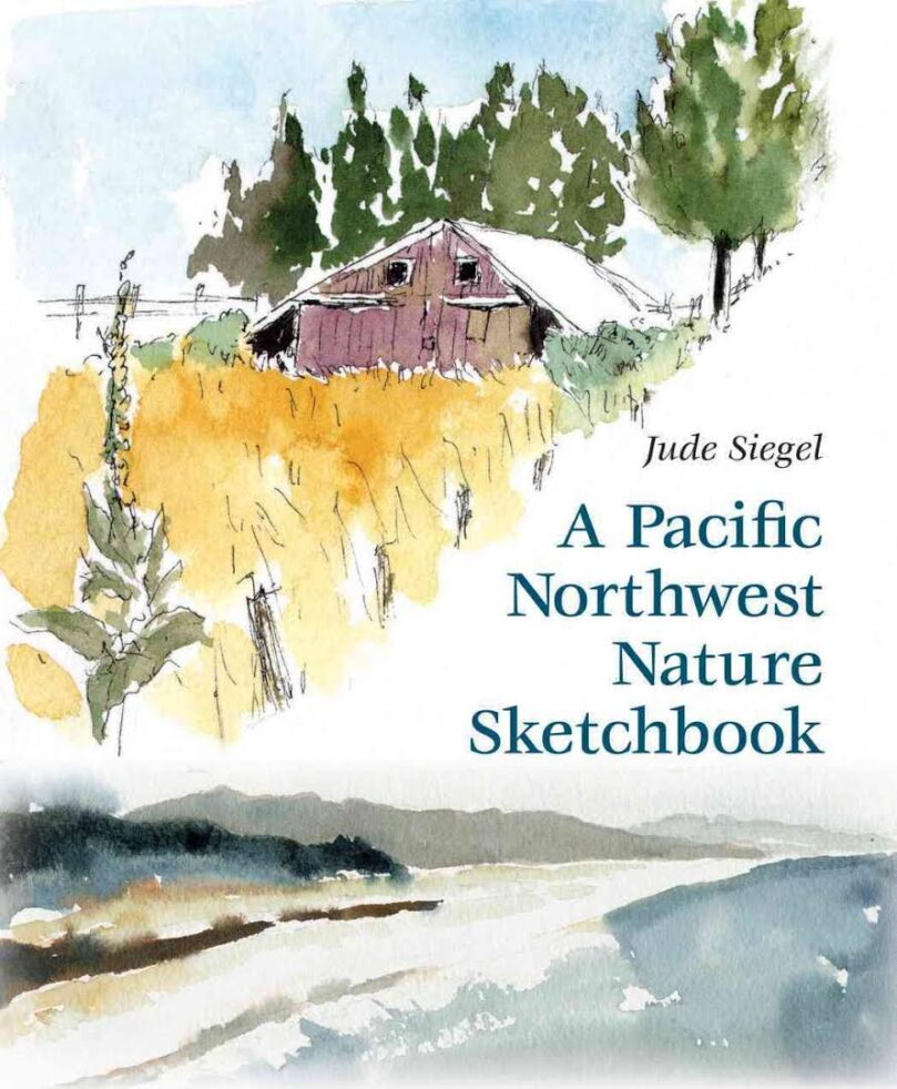 Book cover of Pacific Northwest Nature Sketchbook