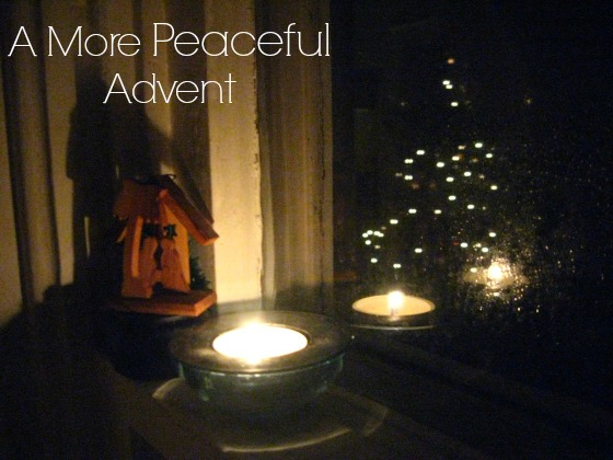 Margin and Rest in Advent