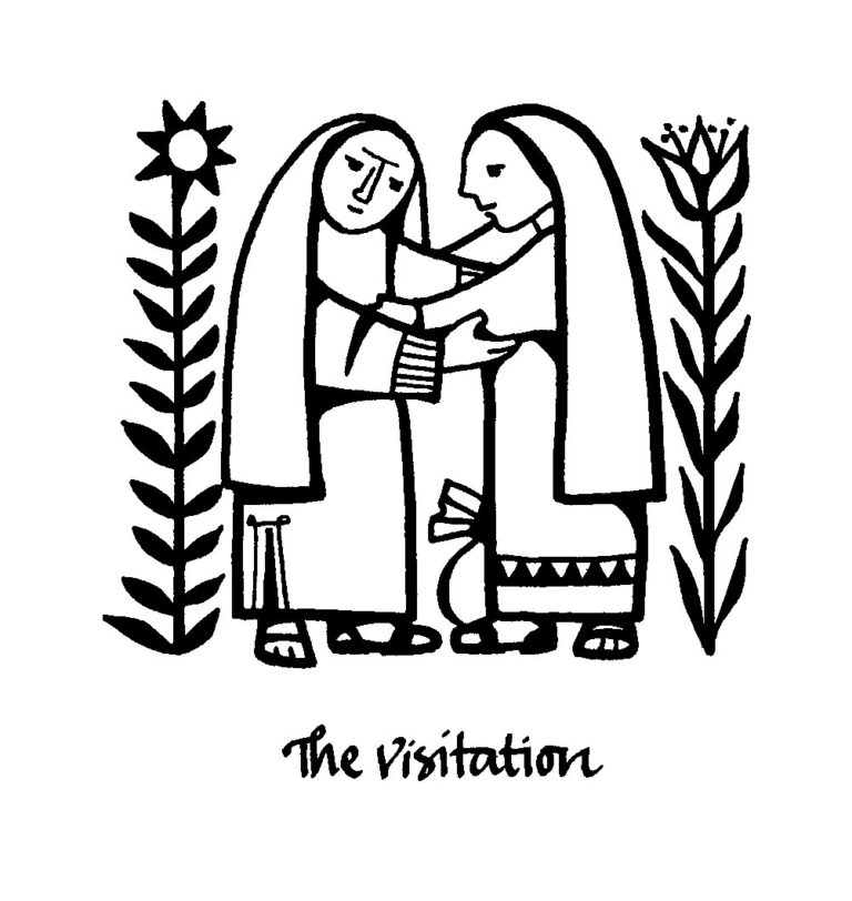 On the Feast of the Visitation