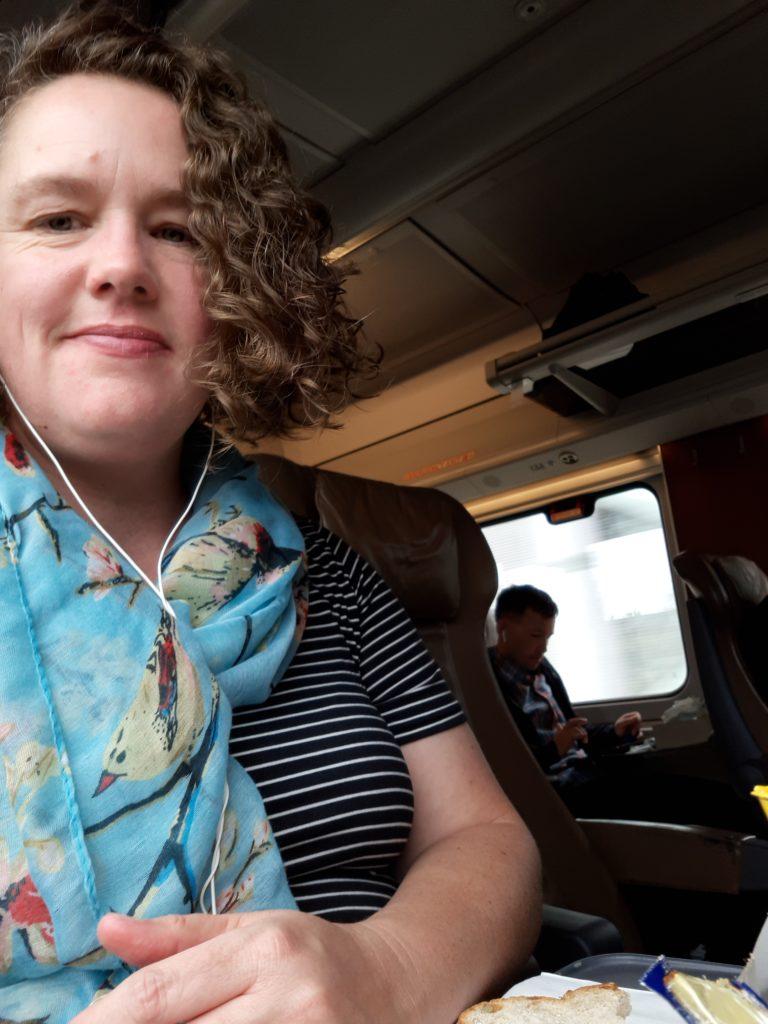 Writing Retreats on the Train