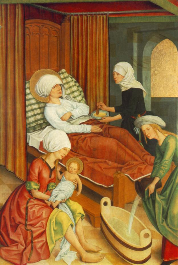 On the Feast of St Anne